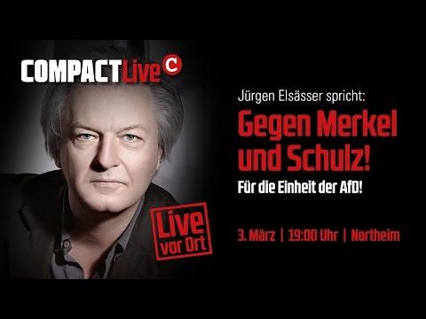 COMPACT-Live: Gegen Schulz und Merkel! Für die Einheit der AfD!