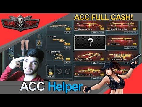 Blood Strike: Acc Helper  (Mostrando o Estoque Super Full Cash)