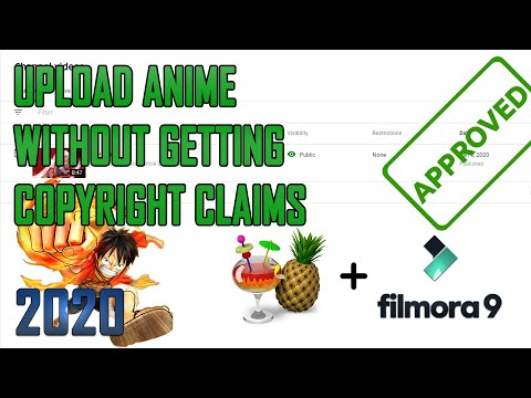 How to Upload Anime Video on Youtube without getting copyright claim in 2020 Tutorial