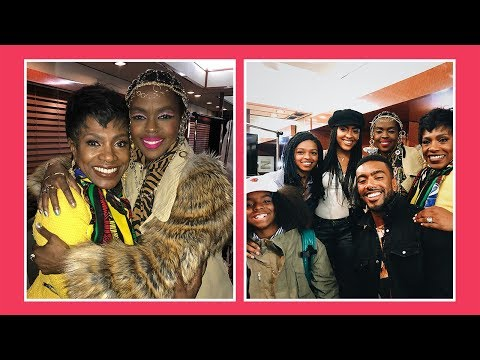 Lauryn Hill & Sheryl Lee Ralph Reunite 25 Years After Sister Act 2