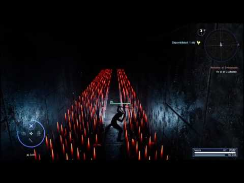 Obtener capucha negra en 5 MINUTOS!! [ Final Fantasy XV ]How to complete the pitioss ruins dungeon