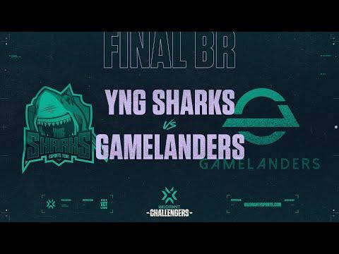 Gamelanders vs Sharks-VCT 2021 Stage2 CF BR-G2