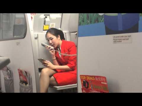 คนสวยใจงาม แอร์โฮสเตสสาวแอร์เอเชีย ประกาศทำบุญช่วยชาวเนปาล น่ารักเว่อร์- Air asia