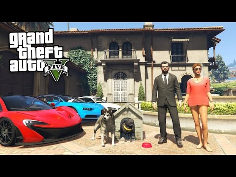 GTA 5 Real Life Mod #35 - NEW GIRLFRIEND MOVING IN!! (GTA 5 Mods)