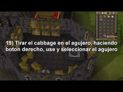 Guia para hacer la quest (mision) Black Knight's Fortress [Spanish] - Runescape