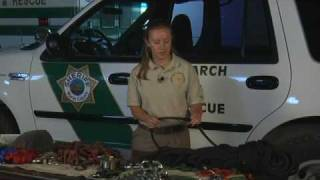 Search & Rescue Video Training: Equipment (part 1)