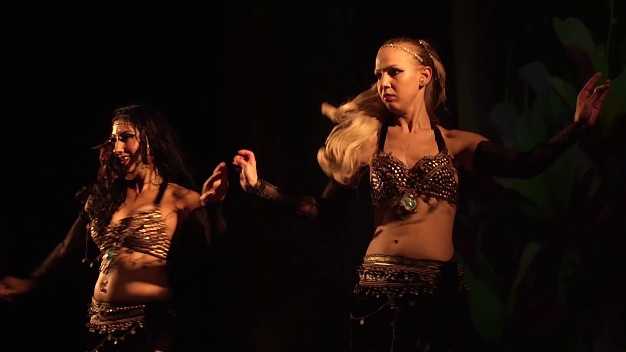 Drum Solo Belly Dance - Eastern Roses Bellydance Troupe