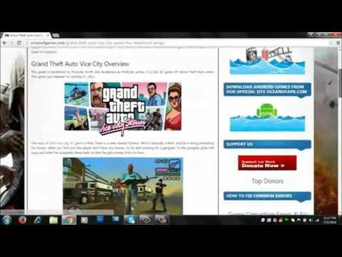 How to download GTA vicecity windows (xp, 7 , 8 , 8 1 , 10)