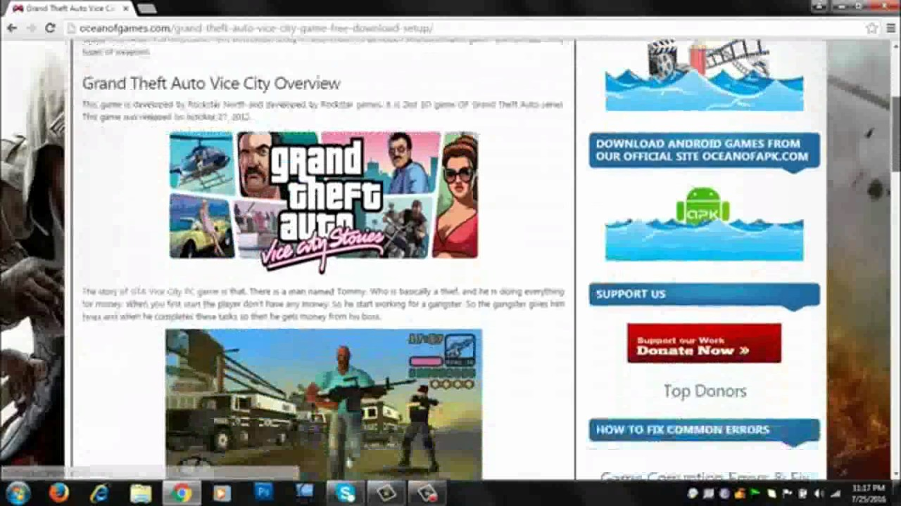 gta vice city game free download for windows 10 32 bit