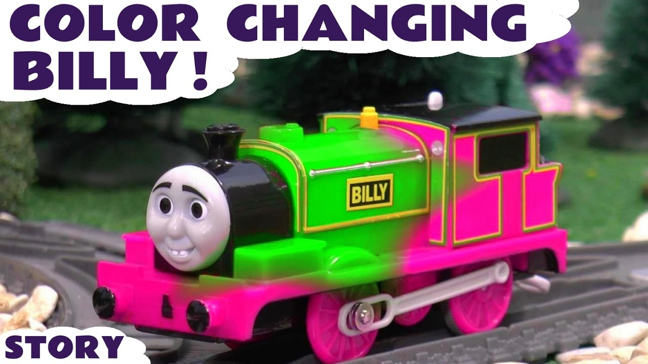 Explore Colors with Thomas and Friends Color Changing Billy - Fun ...