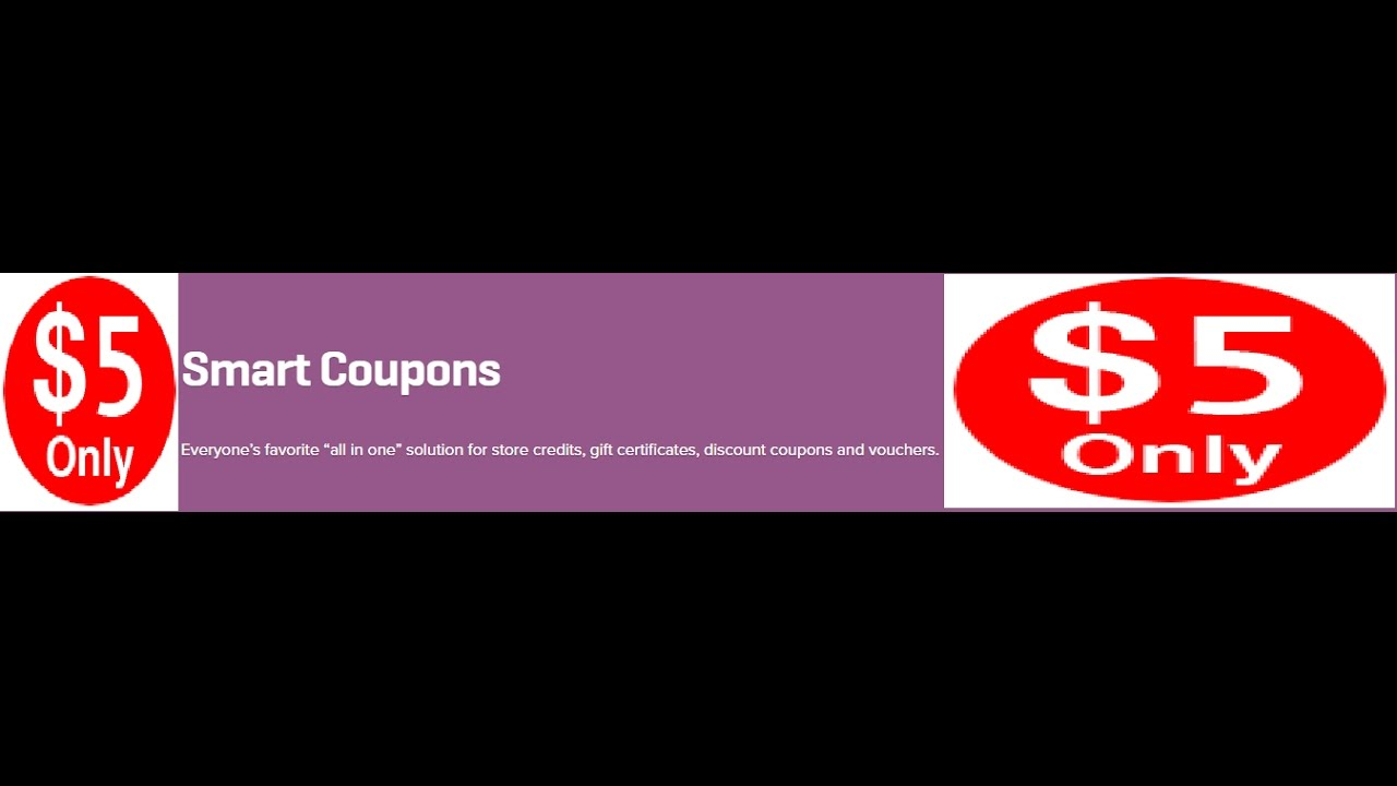 Woocommerce smart coupons 339 extension youtube woocommerce smart coupons 339 extension xflitez Image collections