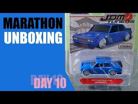 #32 Unboxing dan Review Diecast Jada JDM Tuners Datsun 510 Widebody