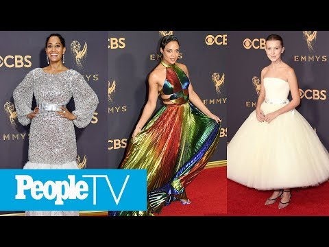 2017 Emmys Style Recap: Nicole Kidman, Millie Bobby Brown & More Best-Dressed Stars   PeopleTV