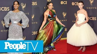 2017 Emmys Style Recap: Nicole Kidman, Millie Bobby Brown & More Best-Dressed Stars | PeopleTV