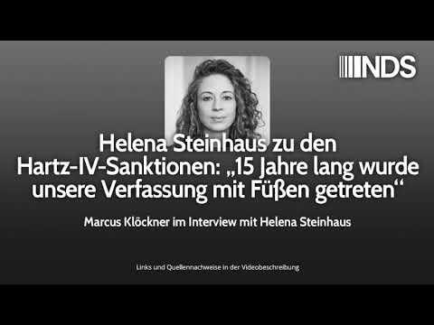 """Helena Steinhaus zu Hartz-IV-Sanktionen: """"15 Jahre lang wurde unsere Verfassung mit Füßen getreten"""""""