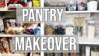 PANTRY ORGANIZATION 2018 | Entire Pantry Makeover Under $200