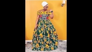 2019 MOST POPULAR #LONG AFRICAN DRESSES FOR AFRICAN QUEENS: STYLISH COLLECTION OF AFRICAN DRESSES