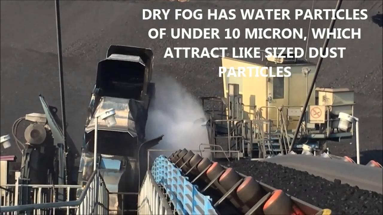 Dry Fog Bucket Reclaimer Video Youtube