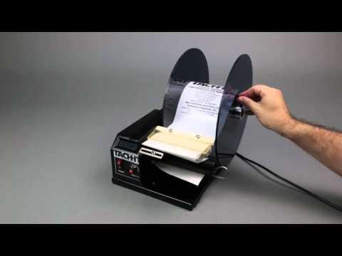 Tach-It SH414D Premiiun Semi-Automatic Label Dispenser