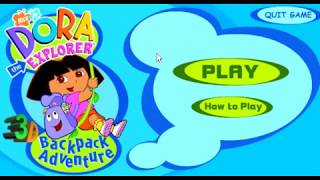 Dora the Explorer - 3D Backpack Adventure (2002 Nick Jr. Shockwave Game)