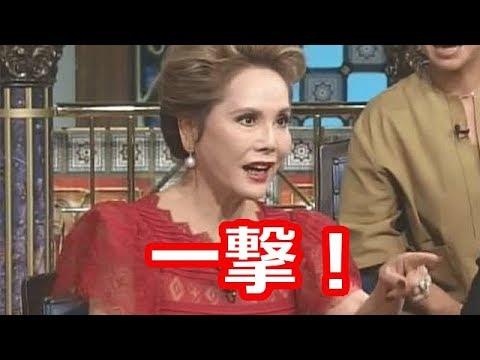 韓国を感情的に全力擁護するタレントをデヴィ夫人が一撃でバッサリ!