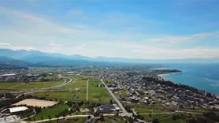 黒部市 全周囲ドローン空撮 撮影高度145m