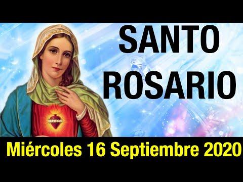 Santo Rosario de hoy Miércoles 16 Septiembre 2020 | MISTERIOS GLORIOSOS 🙏🌹