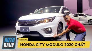 Honda City S 2020 bản gần thấp nhất với gói phụ kiện Modulo vẫn MAX NGẦU