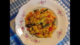 Come fare un buon riso Veggie/ Ricetta vegana/Riso Vegetariano,sano e gustoso