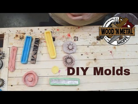 #nosmallcreator DIY Silicone Moulds for Casting