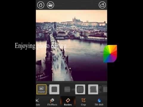 Fotor Photo Effect Studio for iPhone V3.1.1 Overview Demo