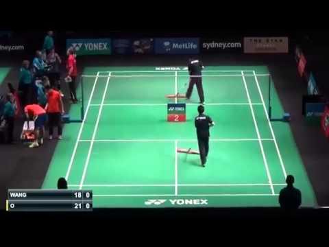 Badminton 2015 | Jan O Jorgensen vs Wang Zhengming