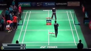Badminton 2015 | Jan O Jorgensen vs Wang Zhengming