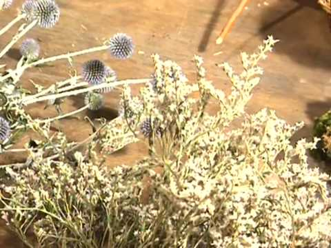 Fleurs séchées - Réaliser de beaux bouquets