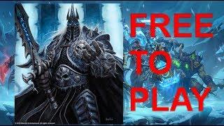 Hearthstone Solo Adventure Free To Play Jade Druid vs Lich King!