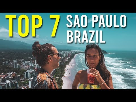 TOP 7 Things do DO for FREE in SAO PAULO - BRAZIL 🍹😎