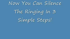 Banish Tinnitus In 3 Simple Steps!