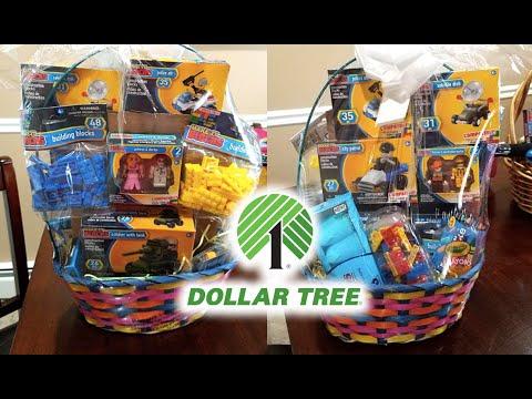Dollar Tree Inspired Lego Blocks Easter Basket 2019