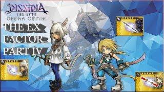 Dissidia Final Fantasy: Opera Omnia THE EX FACTOR PART 4