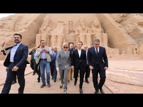 Macron risks new criticism over human rights with lucrative trip to Egypt