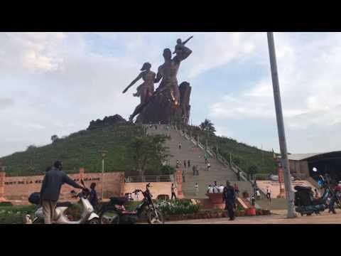 TimeLapse Monument De La Renaissance Africaine