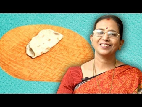 Soft chapati phulka in tamil doovi for Awesome cuisine authors mallika badrinath