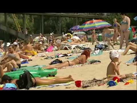 Kyiv Is Europe Urban Beach Capital: Kyiv beach culture stretches back to early 20th century