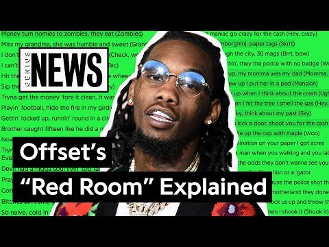 """Offset's """"Red Room"""" Explained 