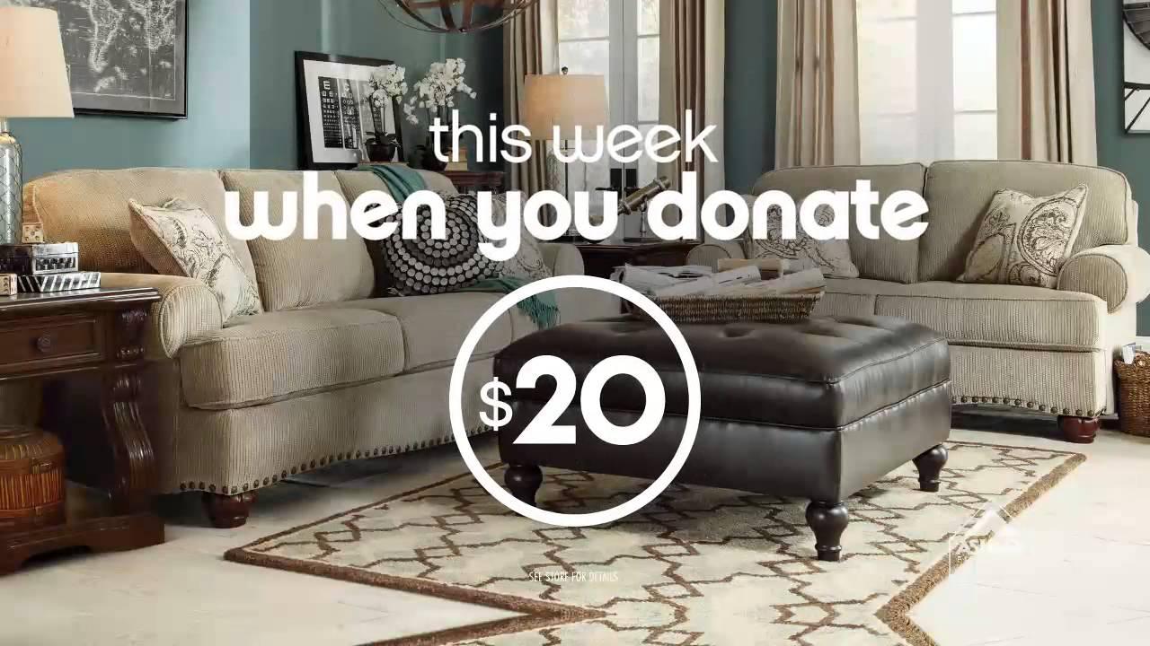 Ashley Furniture Homestore Covenant Care Adoption Services Youtube