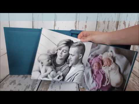 Cute as a Button Photography Photo Book   Newborn Photographer Dublin
