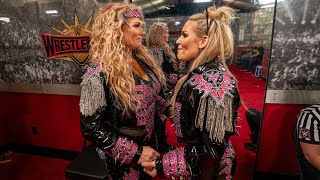 The deeper meaning of Beth Phoenix Natalya s WrestleMania reunion WWE Icons extra