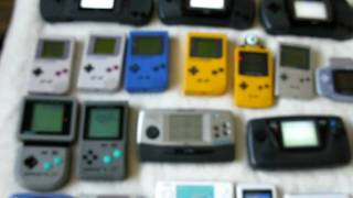 Handheld Console Collection - April 2010 Updated
