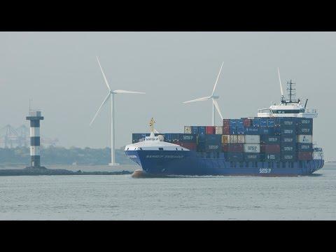 Scheepvaart in Rotterdam / Shipspotting / Hoek van Holland / Tweede Maasvlakte / Zeeschepen