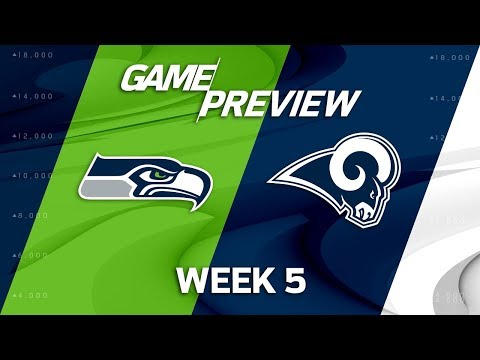 Seattle Seahawks vs. Los Angeles Rams   Week 5 Game Preview   Move the Sticks